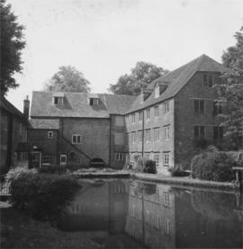 Upstream view, Town Mills, Gillingham