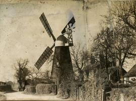 """Smock mill at Terling, Essex"""