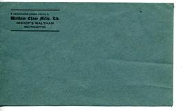 Waltham Chase Mills, Envelope (unused)