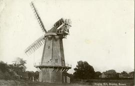 Shipley Mill, Shipley, Sussex.