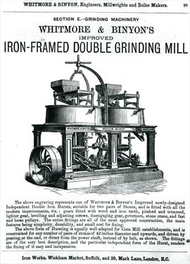 Double Grinding Mill Advertisement