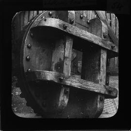 'Stokesby face wheel' - possibly the head wheel from Old Hall Mill, Stokesby, Norfolk
