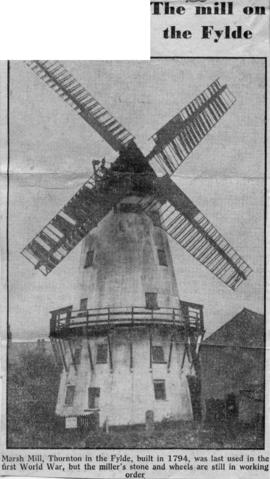 """The mill on the Fylde"""