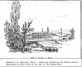 Sketch of Charlton Mill, Dover