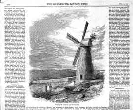 Article on Montefiore Windmill, Jerusalem