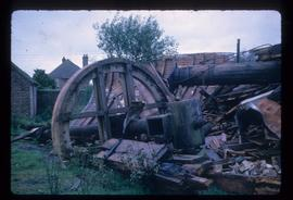 Wreckage, Telham Hill Mill, Battle