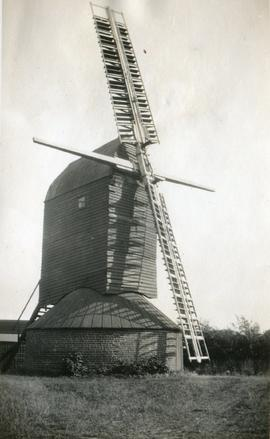Six Mile Bottom Mill, Burrough Green, with two missing sails