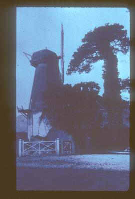 Windmill, Weston, Hound, derelict, with two sails