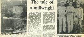 """The tale of a millwright"""