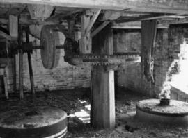 Crown wheel and bevel, Old Corn Mill, Damerham