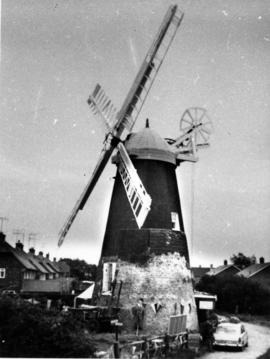 Exterior view of Polegate Mill, Sussex