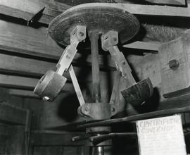 Close-up of centrifugal governor, Davison's Mill, Stelling Minnis