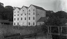 Oxnead Mill, view from lock