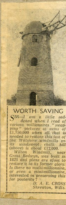 """Worth Saving"""
