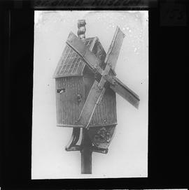 Post mill model, St Omer Museum, France
