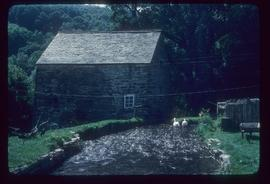 Exterior of preserved watermill building