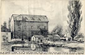 """The old watermill at Roydon"""