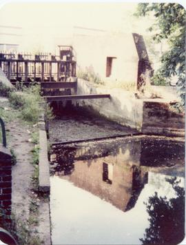 View from tailrace, Dean's Mill, Canterbury