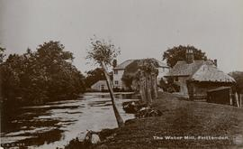 View of buildings from downstream, Maplehurst Mill, Frittenden