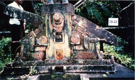Photograph of the crusher at Farm Mill, St Vincent