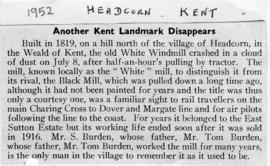 Another Kent Landmark Disappears