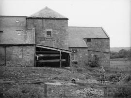 Abberwick Mill, Edlingham, Bolton, with small boy