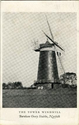 The Tower Windmill, Burnham Overy Staithe, Norfolk