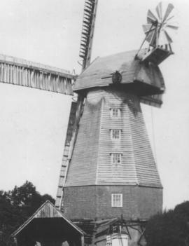 View from left rear side, Town Mill, Biddenden