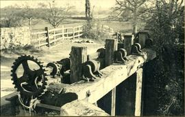 Flood-gates, watermill, Lurgashall
