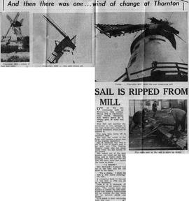 """Sail is ripped from mill"""