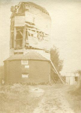 Harebeating Mill, Hailsham, derelict, in poor condition