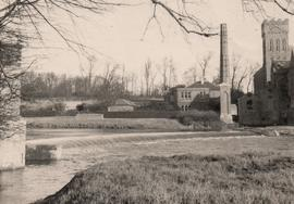 Wier and mill house, Tadcaster Mill
