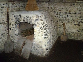 Bread oven at the Weald and Downland Museum