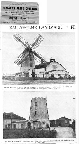 """Ballyholme windmill : then and now"""