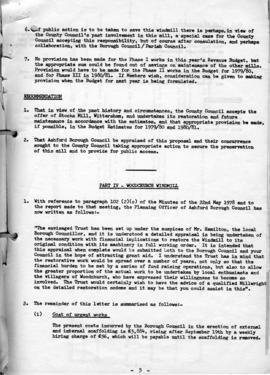 General report on surviving Kentish windmills (5 of 7)