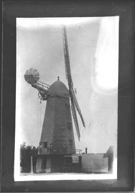Smock mill, Hailsham, in working order