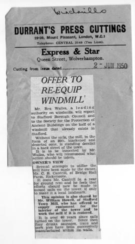 """Offer to re-equip windmill"""