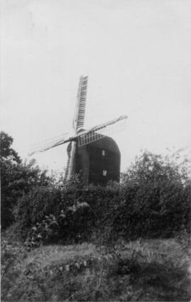 Mount Ephraim Mill, Ash, with hedge in front