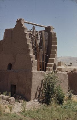 Horizontal windmill, Islam Qala, Herat, viewed from the back