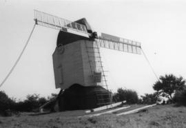 Argos Hill Mill, Mayfield, undergoing restoration