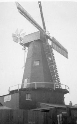 Delce Mill, Rochester, in a disused condition