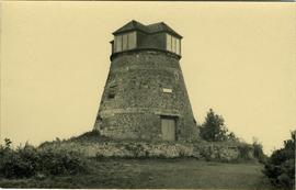 Tower mill, East Knoyle, capped with belvedere