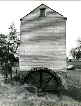 Creekside view of Thorrington Mill