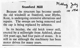 Stanford Mill