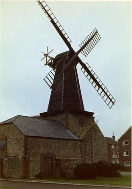 Smock mill, West Blatchington, preserved