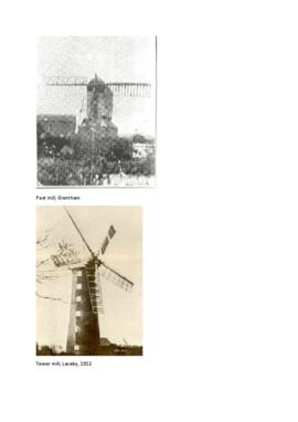Images of Lincolnshire mills