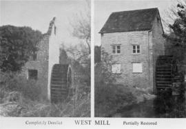 Before and after, West Mill, Sherborne