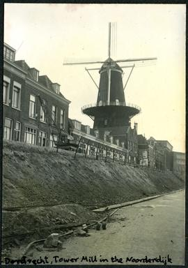 Dordrecht, Tower Mill in the Noordendijk
