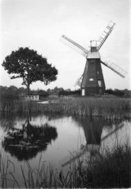 View across river, East Mill, Smarden