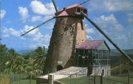 Postcard of Morgan Lewis Mill, St Andrew, Barbados
